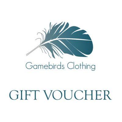 Gamebirds Clothing Gift Voucher