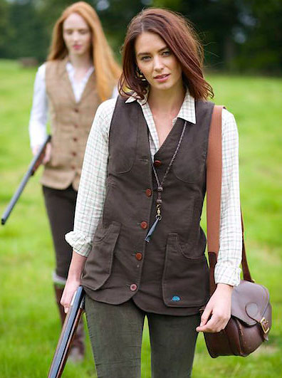 Chocolate Widgeon Shooting Waistcoat