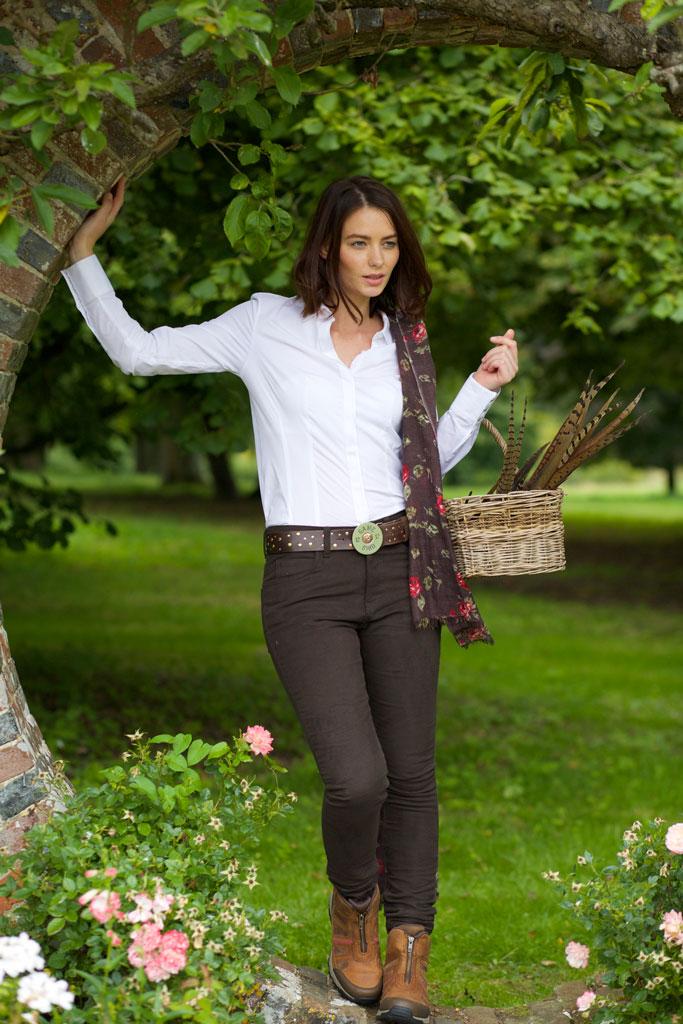 Gamebirds Clothing Pheasant Moleskin Trousers - Chocolate