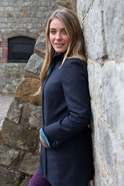 Gamebirds Clothing Ladies British Tweed long Jacket