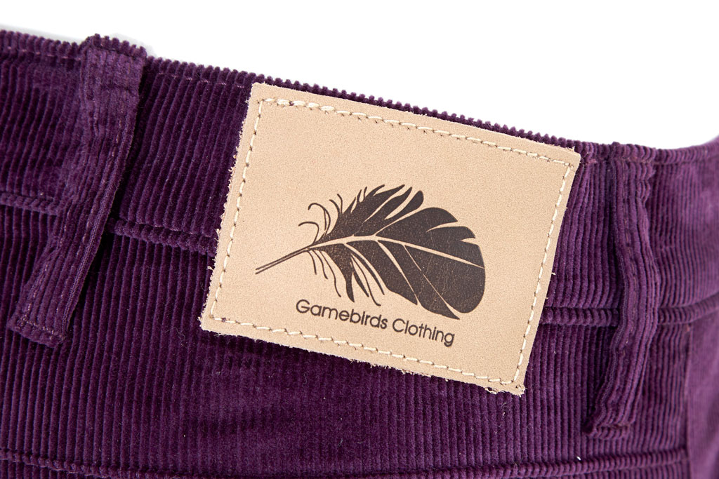 Gamebirds Clothing Partridge Cord Trousers - Grape