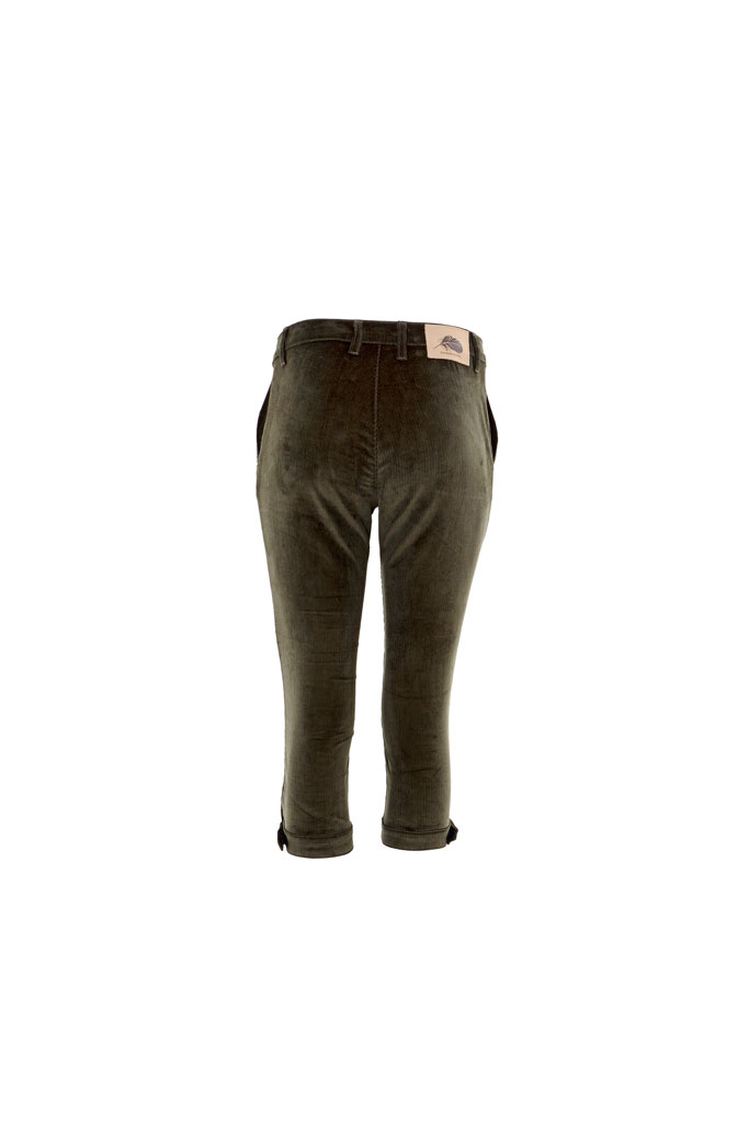 Gamebirds Clothing Woodcock Cord Breeks - Forest Green