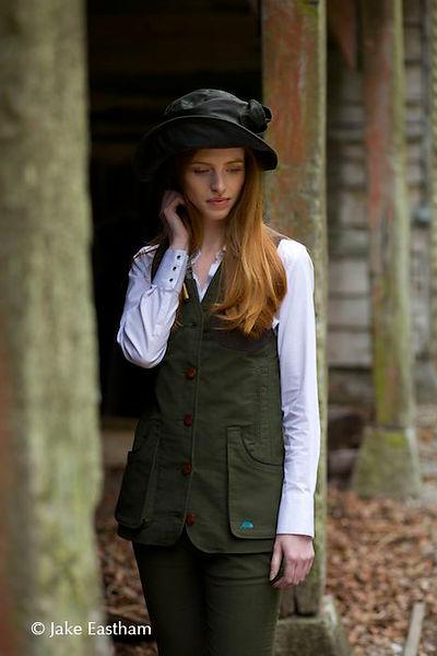 Forest Green Widgeon Shooting Waistcoat