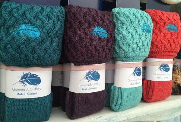 Gamebirds Clothing British Wool Lady Rannoch Socks