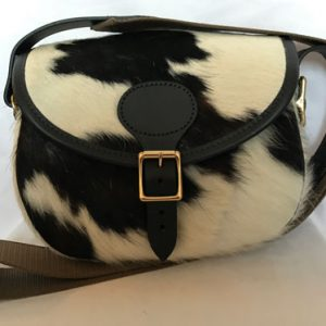 cow hide cartridge bag