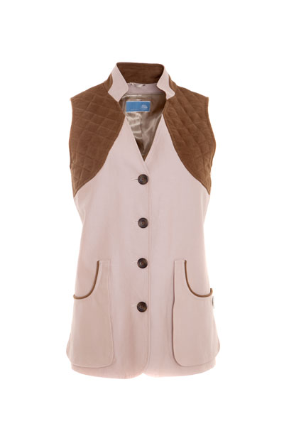 Gamebirds Clothing Oystercatcher Cotton Shooting Waistcoat