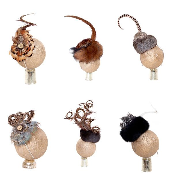 Handmade British Feather fascinators