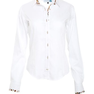 Gamebirds Clothing white contrast shirt