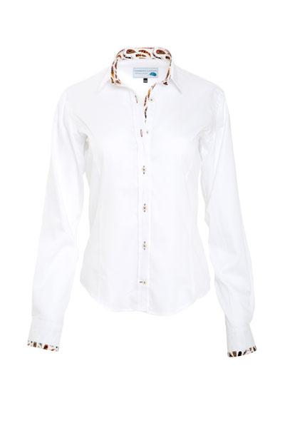 Gamebirds Clothing white contrast shirt